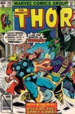 Thor (1966-1996) #284 Variant B: Direct Edition