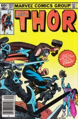 Thor (1966-1996) #323 Variant A: Newsstand Edition