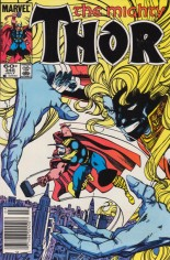 Thor (1966-1996) #345 Variant A: Newsstand Edition