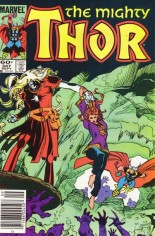 Thor (1966-1996) #347 Variant A: Newsstand Edition