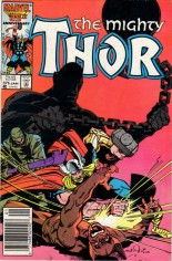 Thor (1966-1996) #375 Variant A: Newsstand Edition