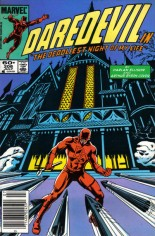 Daredevil (1964-1998) #208 Variant A: Newsstand Edition