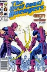 West Coast Avengers (1985-1989) #27 Variant A: Newsstand Edition