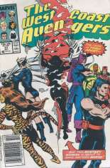 West Coast Avengers (1985-1989) #37 Variant A: Newsstand Edition