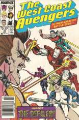 West Coast Avengers (1985-1989) #38 Variant A: Newsstand Edition
