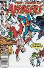Avengers (1963-1996) #248 Variant A: Newsstand Edition