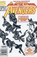 Avengers (1963-1996) #347 Variant A: Newsstand Edition