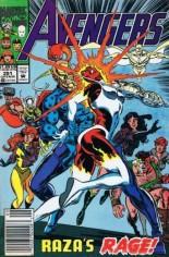 Avengers (1963-1996) #351 Variant A: Newsstand Edition
