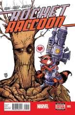 Rocket Raccoon (2014-2015) #5 Variant A