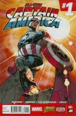 All-New Captain America (2015) #1 Variant A