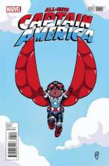 All-New Captain America (2015) #1 Variant B: Baby Cover