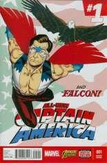 All-New Captain America (2015) #1 Variant E: Incentive Cover