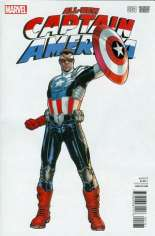 All-New Captain America (2015) #1 Variant F: Incentive Cover