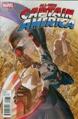 All-New Captain America (2015) #1 Variant G: Incentive Cover