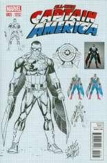 All-New Captain America (2015) #1 Variant H: Design Cover