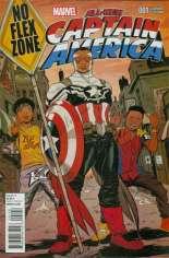 All-New Captain America (2015) #1 Variant I: Custom Interscope Cover