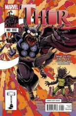 Thor (2014-2015) #2 Variant D: Rocket Raccoon & Groot Cover
