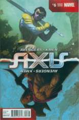 Avengers and X-Men: AXIS (2014-2015) #6 Variant B: Inversion Cover