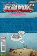 Deadpool (2012-2015) #37 Variant B: Rocket Raccoon & Groot Cover