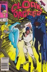 Cloak and Dagger (1985-1987) #4 Variant A: Newsstand Edition