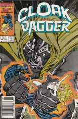 Cloak and Dagger (1985-1987) #10 Variant A: Newsstand Edition
