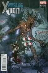 Amazing X-Men (2014-Present) #13 Variant B: Rocket Raccoon & Groot Cover