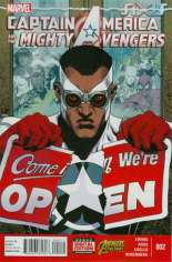 Captain America and the Mighty Avengers (2015) #2 Variant A