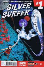 Silver Surfer (2014-2016) #1 Variant G: DF Signed Edition
