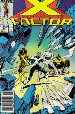 X-Factor (1986-1998) #28 Variant A: Newsstand Edition