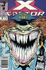 X-Factor (1986-1998) #30 Variant A: Newsstand Edition