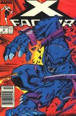 X-Factor (1986-1998) #33 Variant A: Newsstand Edition