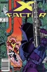 X-Factor (1986-1998) #35 Variant A: Newsstand Edition