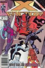 X-Factor (1986-1998) #43 Variant A: Newsstand Edition