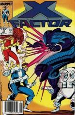 X-Factor (1986-1998) #40 Variant A: Newsstand Edition