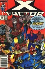 X-Factor (1986-1998) #41 Variant A: Newsstand Edition