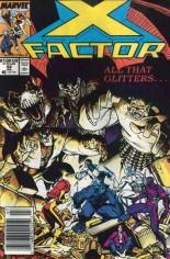 X-Factor (1986-1998) #42 Variant A: Newsstand Edition
