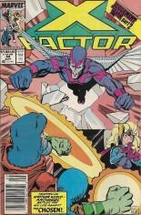 X-Factor (1986-1998) #44 Variant A: Newsstand Edition