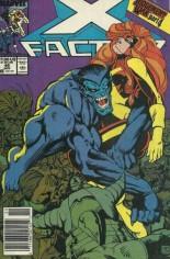 X-Factor (1986-1998) #46 Variant A: Newsstand Edition