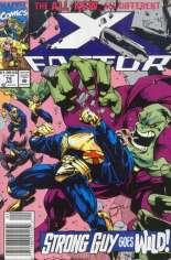 X-Factor (1986-1998) #74 Variant A: Newsstand Edition