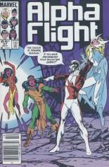 Alpha Flight (1983-1994) #27 Variant A: Newsstand Edition