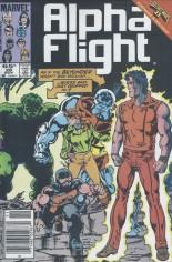 Alpha Flight (1983-1994) #28 Variant A: Newsstand Edition