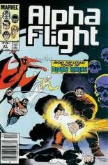 Alpha Flight (1983-1994) #31 Variant A: Newsstand Edition