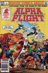 Alpha Flight (1983-1994) #1 Variant C: $1.25 Variant