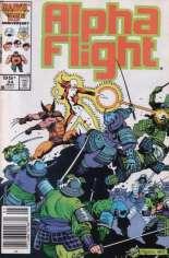 Alpha Flight (1983-1994) #34 Variant C: 95 Cent Variant