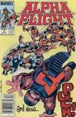 Alpha Flight (1983-1994) #5 Variant C: 75 Cent Variant