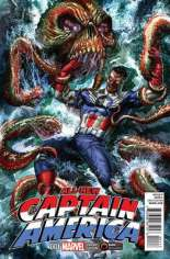 All-New Captain America (2015) #1 Variant J: GameStop Exclusive; Limited to 3000 Copies