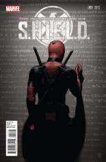 S.H.I.E.L.D. (2015-2016) #1 Variant J: Deadpool Party Cover