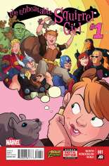Unbeatable Squirrel Girl (2015) #1 Variant A