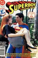 Superboy (1990-1991) #1 Variant A: Newsstand Edition