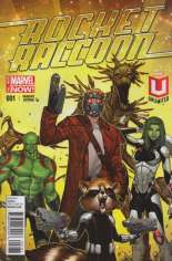 Rocket Raccoon (2014-2015) #1 Variant P: Marvel Unlimited Plus Exclusive